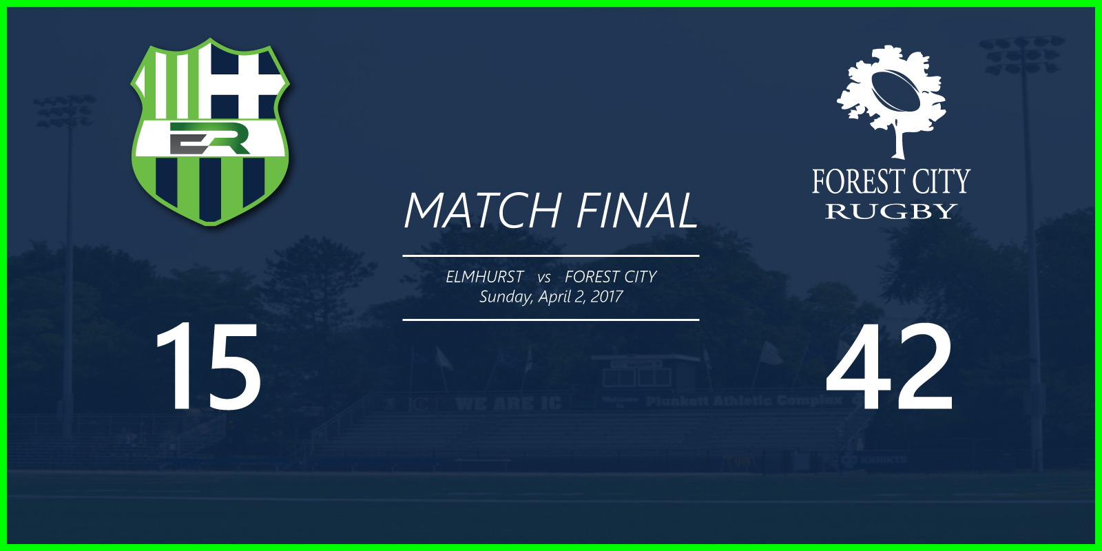 Match vs Forest City
